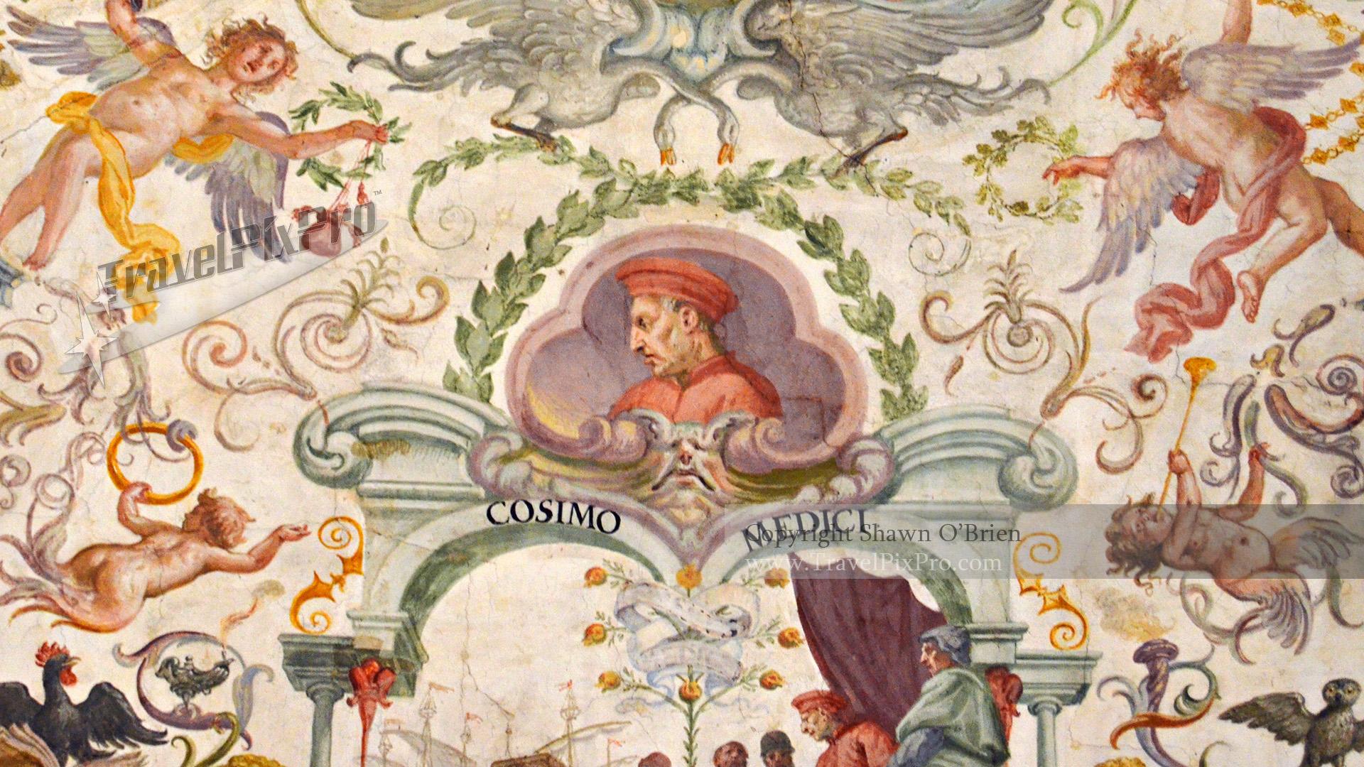 Uffizi Gallery Medici Ceiling Art