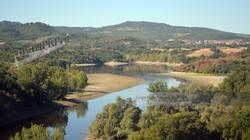 Italian River Landscape