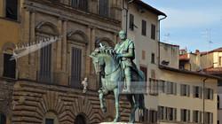 Cosimo I in Signoria Square Florence