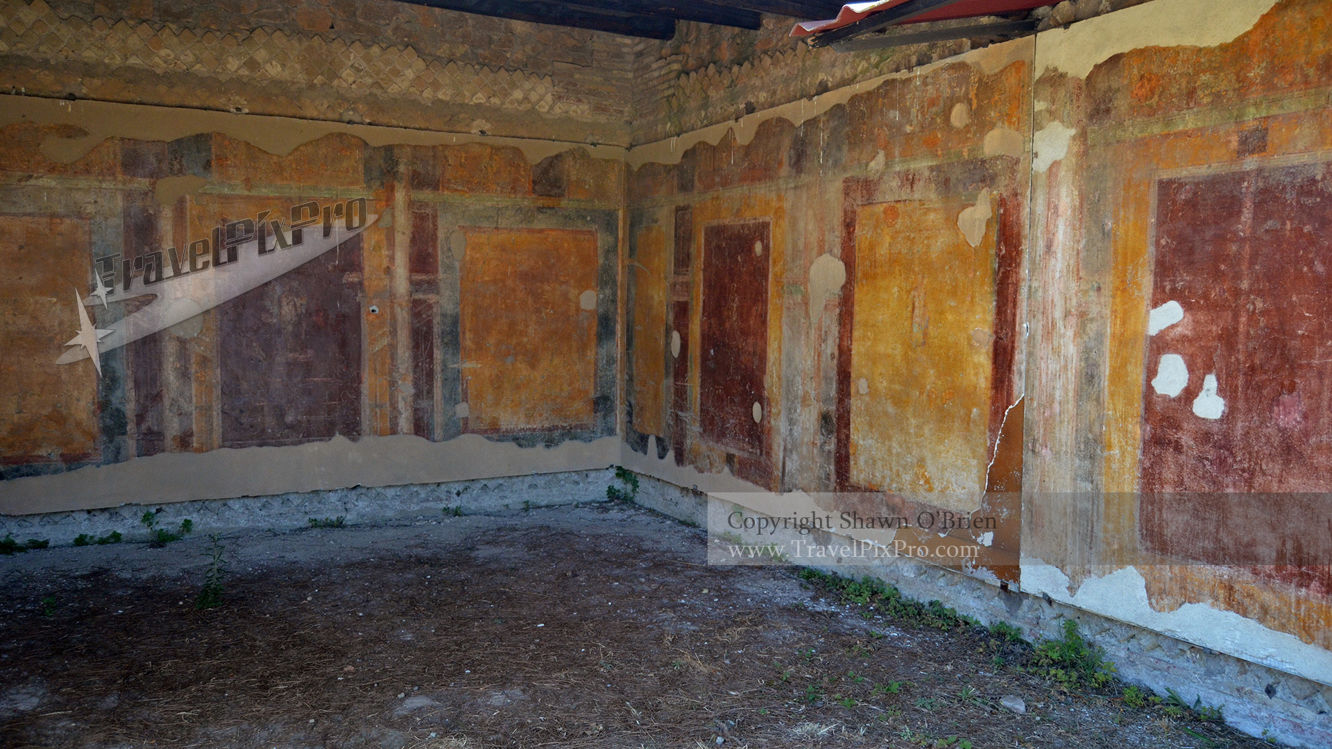 Painted Apartment Walls Ostia Antica