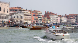 Lagoon Boats off St. Mark's Square