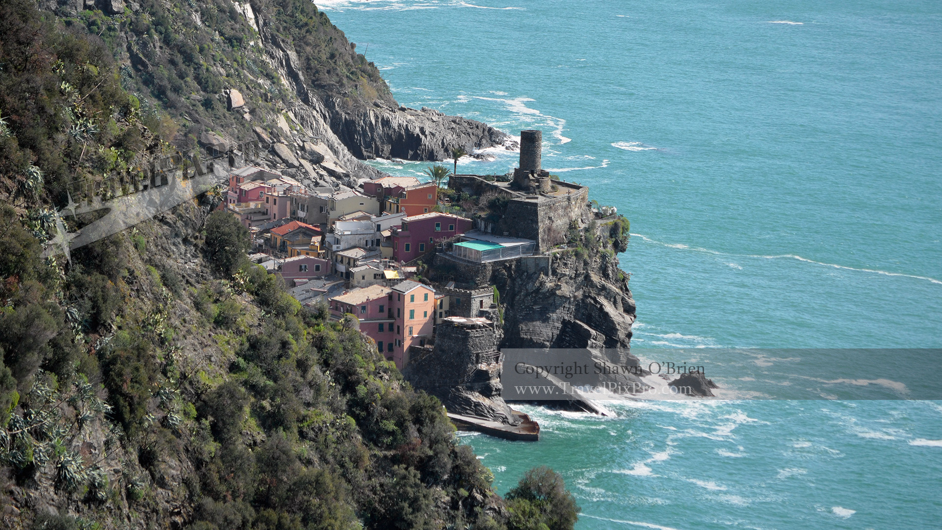 Above Vernazza 5Terre Hiking Trail