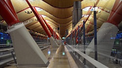 Madrid Barajas Airport Reflections