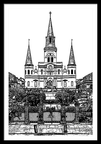 St. Louis Cathedral on Jackson Square