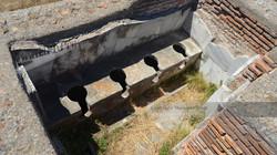 Ostia Antica Public Bathroom
