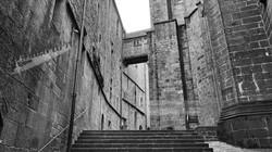 Mont St Michel Abbey Structure