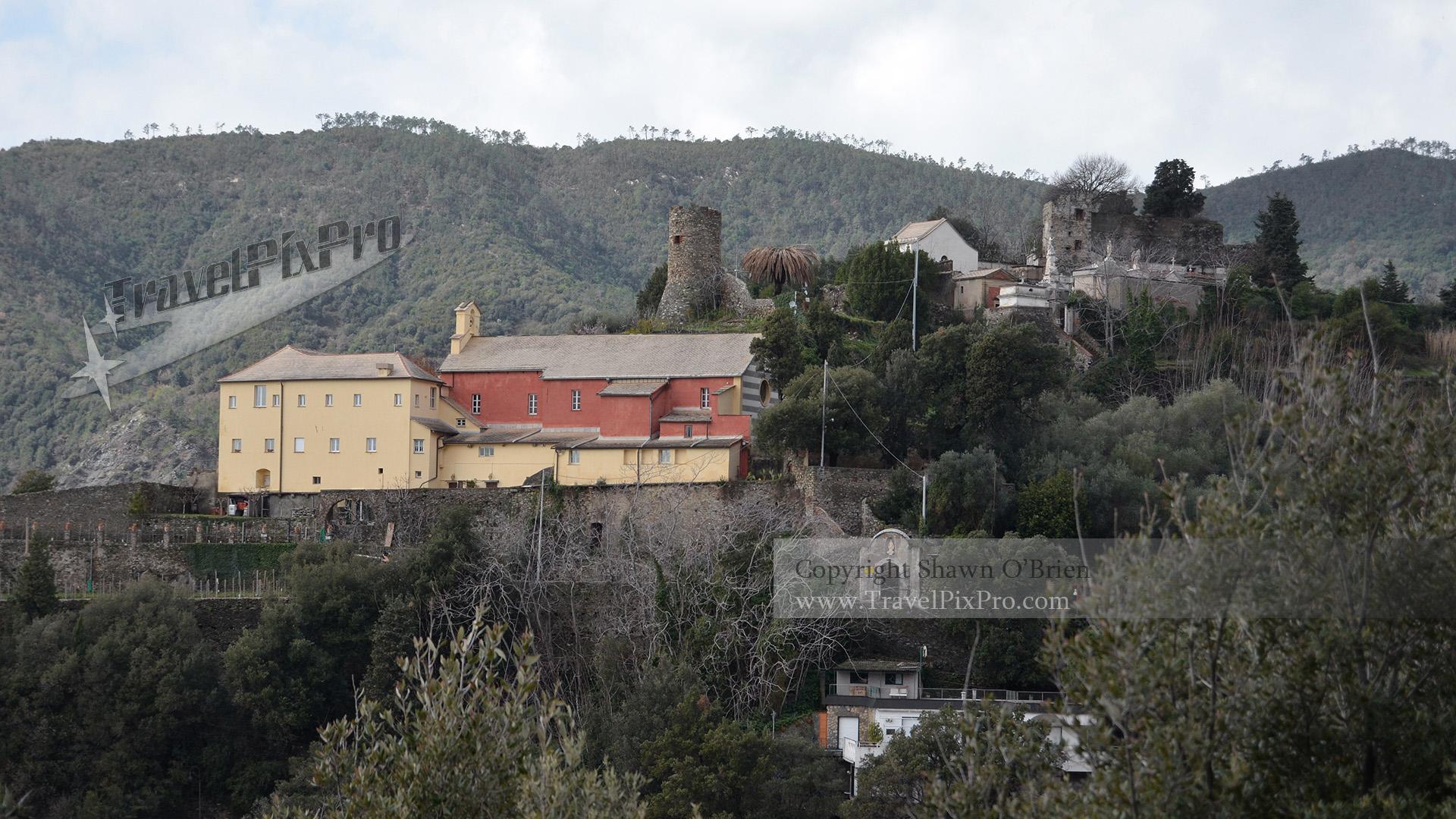 Above Monterosso Cinque Terre Italy