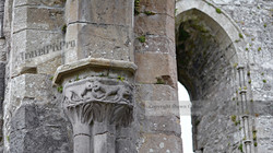 Boyle Abbey Carving