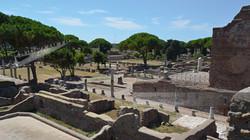 Ostia Antica Forum View