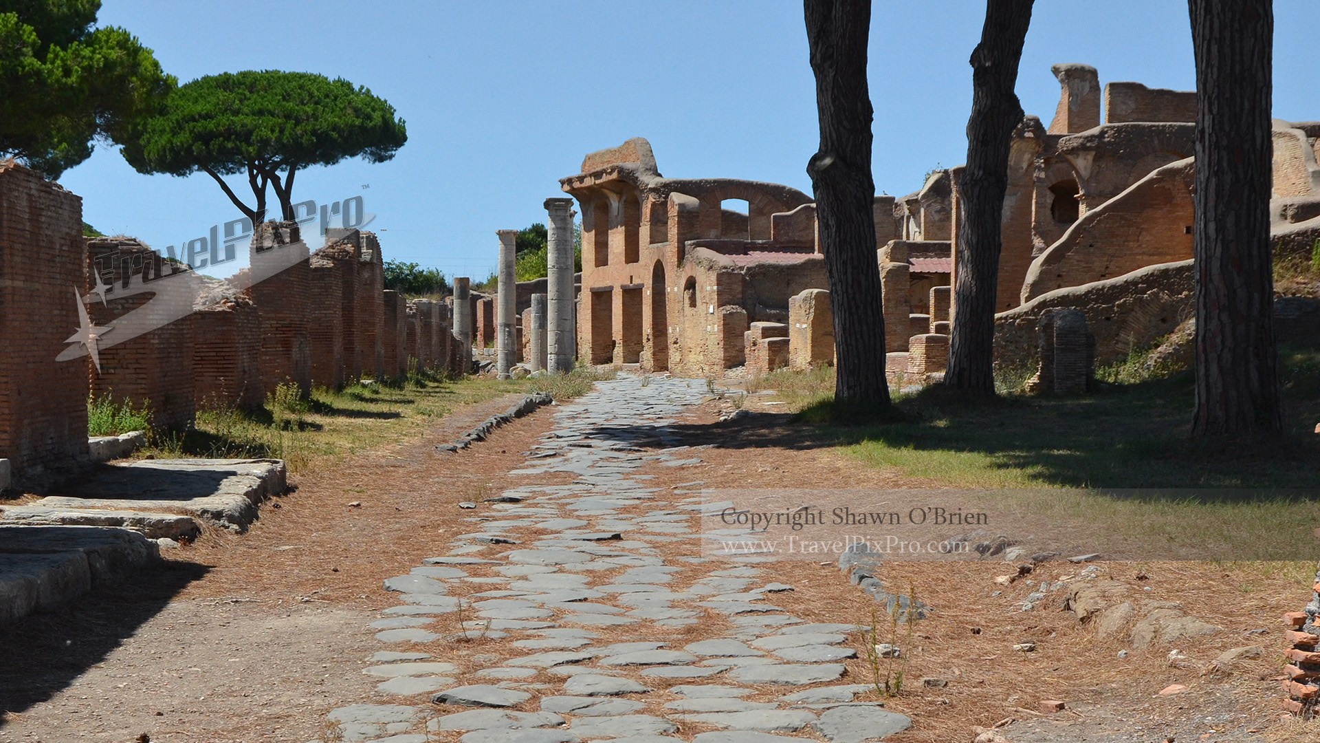 Neighborhood Stone Road Ostia Antica