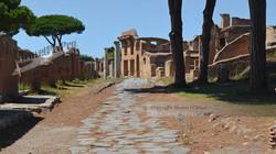 Neighborhood Stone Road Ostia Antica