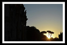 Arch of Constatine Sunset Silhouette