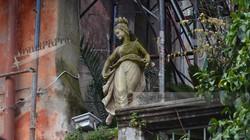 Cinque Terre Statue