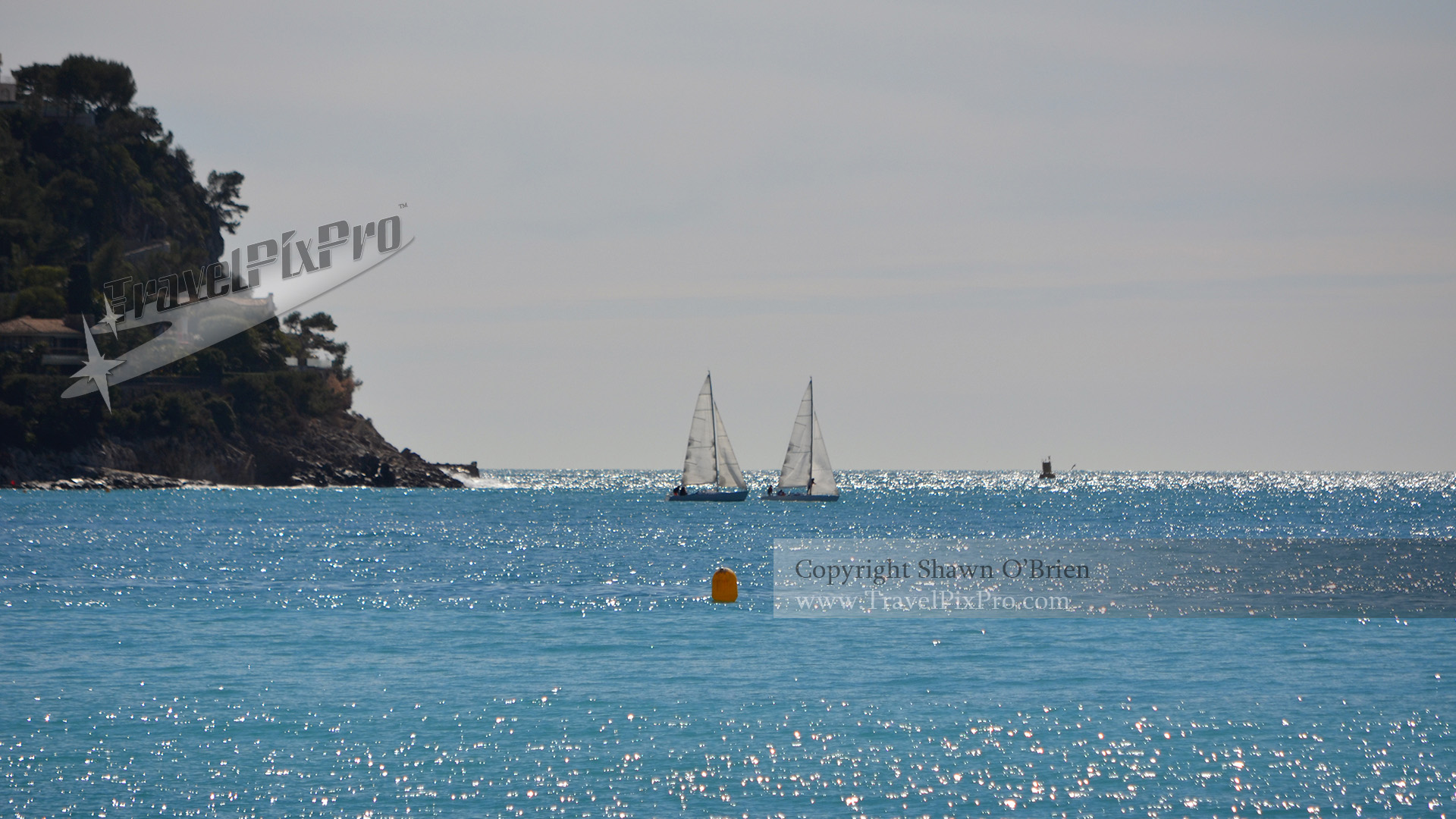 Twin Sailboats | Nice, France