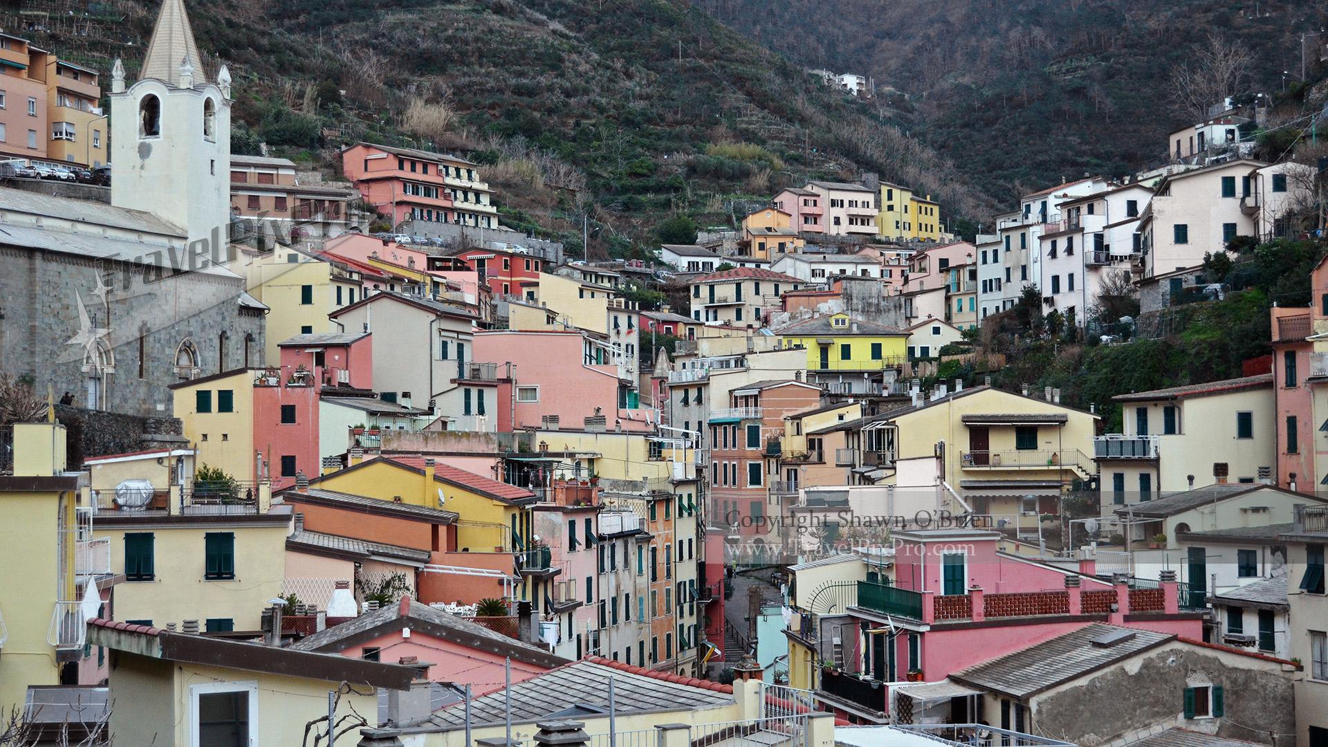 Upper Riomaggiore Cinque Terre Italy