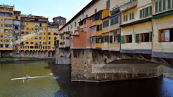 Ponte Veccio Sculler