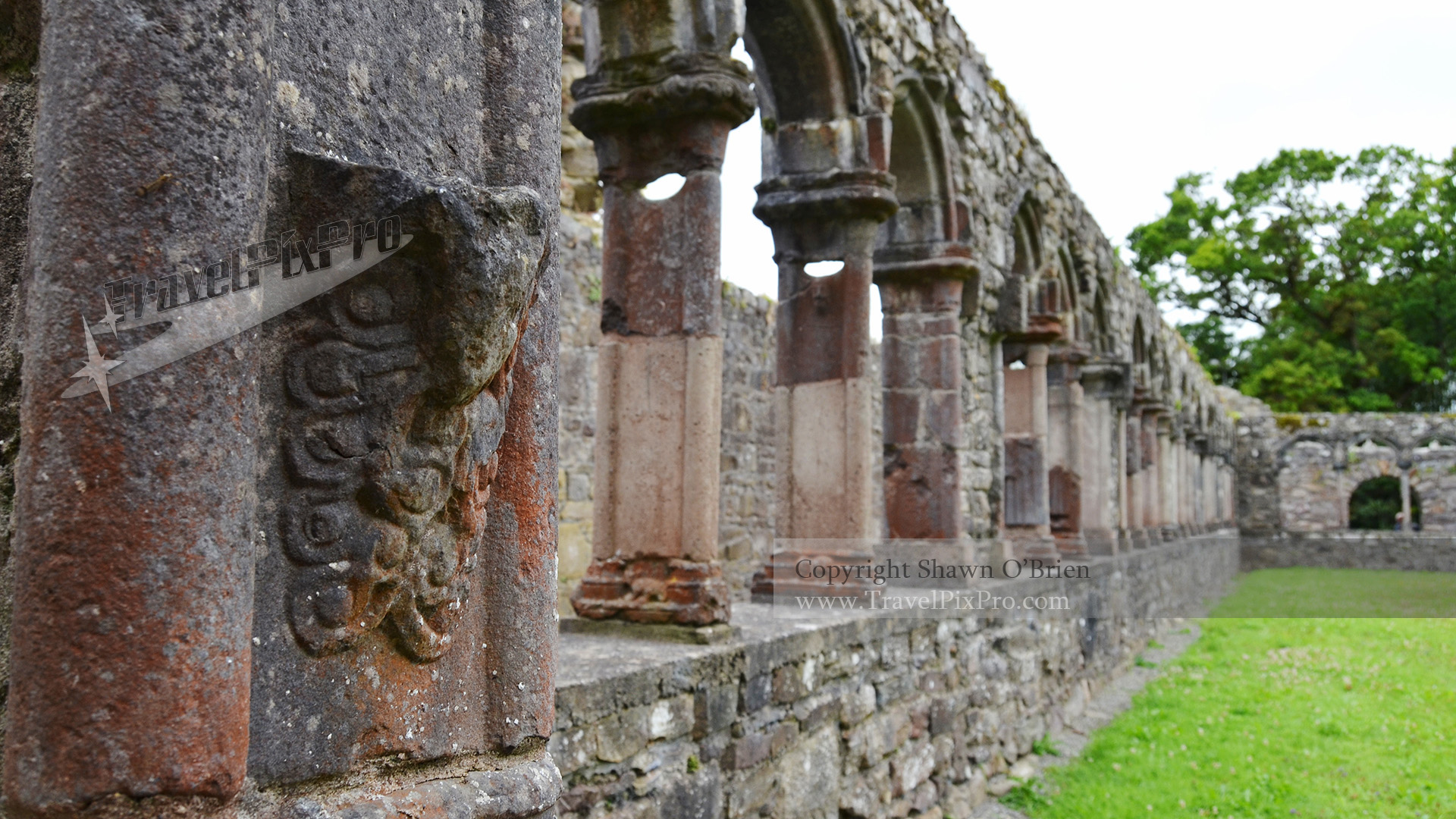 Jerpoint Abbey Cloister