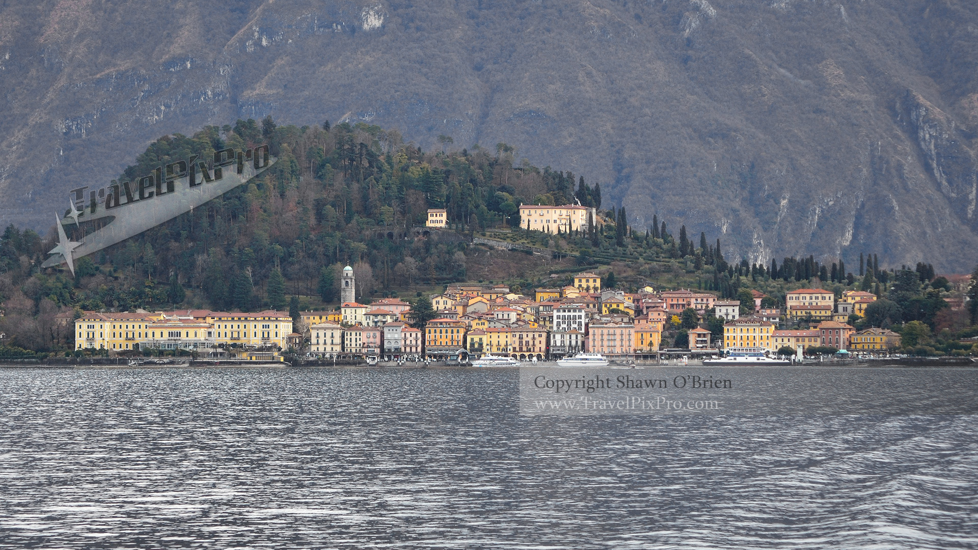 Bellagio Italy Panorama