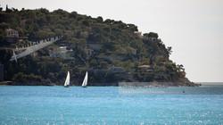 Twin Sailboats St-Jean-Cap-Ferrat