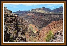 Overlook Of Inner Gorge And Colorado River