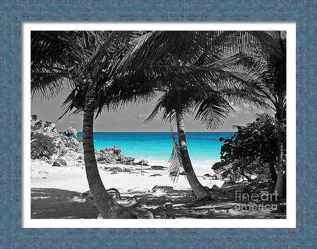 Tulum Mexico Turquoise Blue Waters
