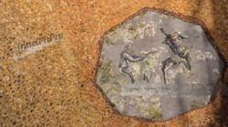 Partial Mosaic Domus Aurea Ceiling