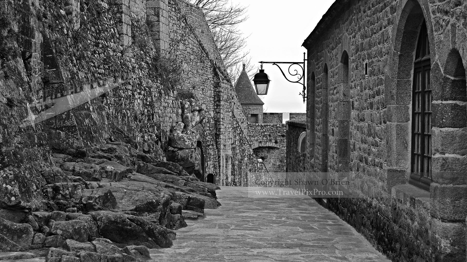 Mont St Michel Rocky Path