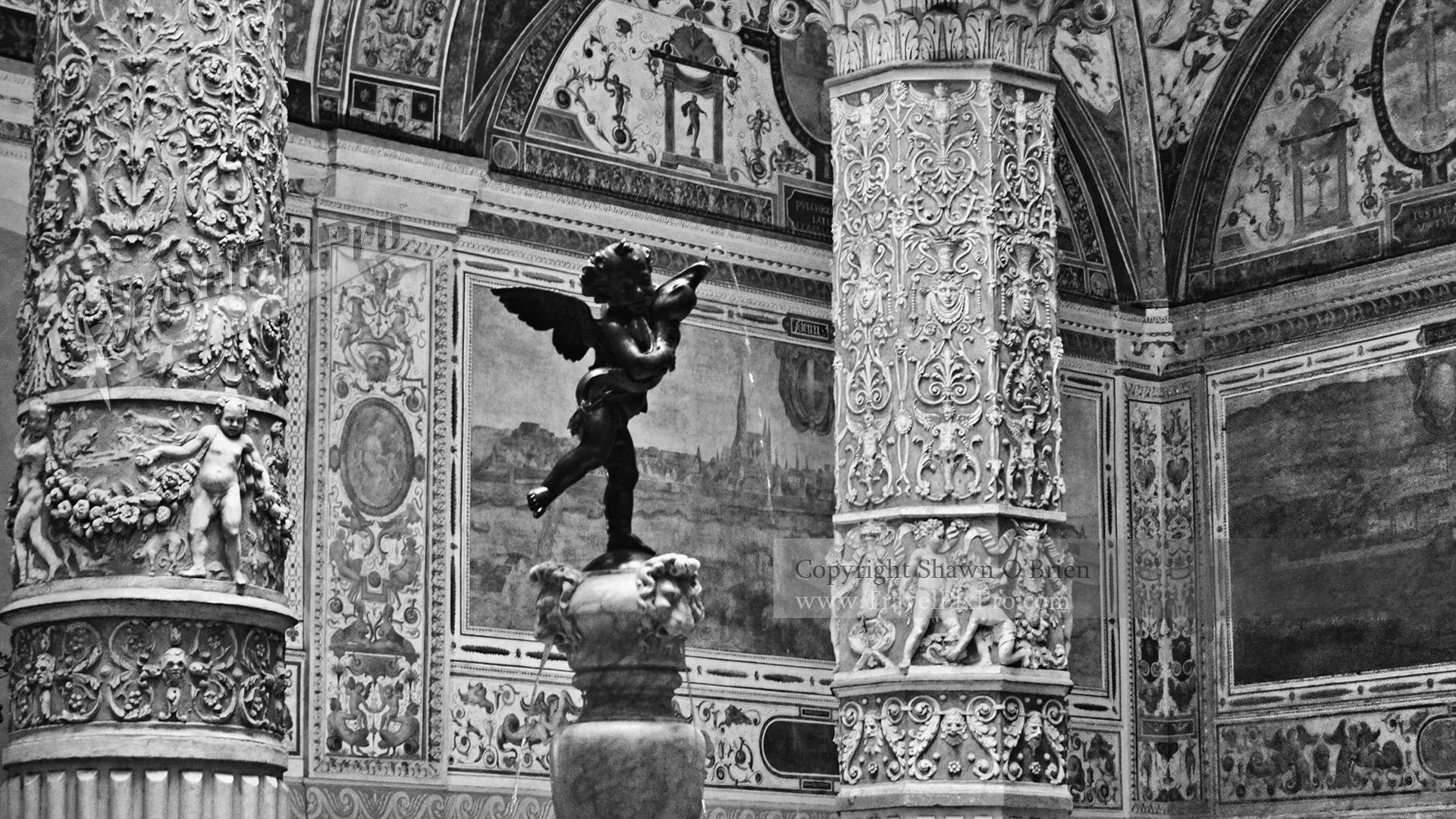 Palazzo Vecchio Cherub Florence