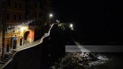 Riomaggiore Nighttime Harbor View