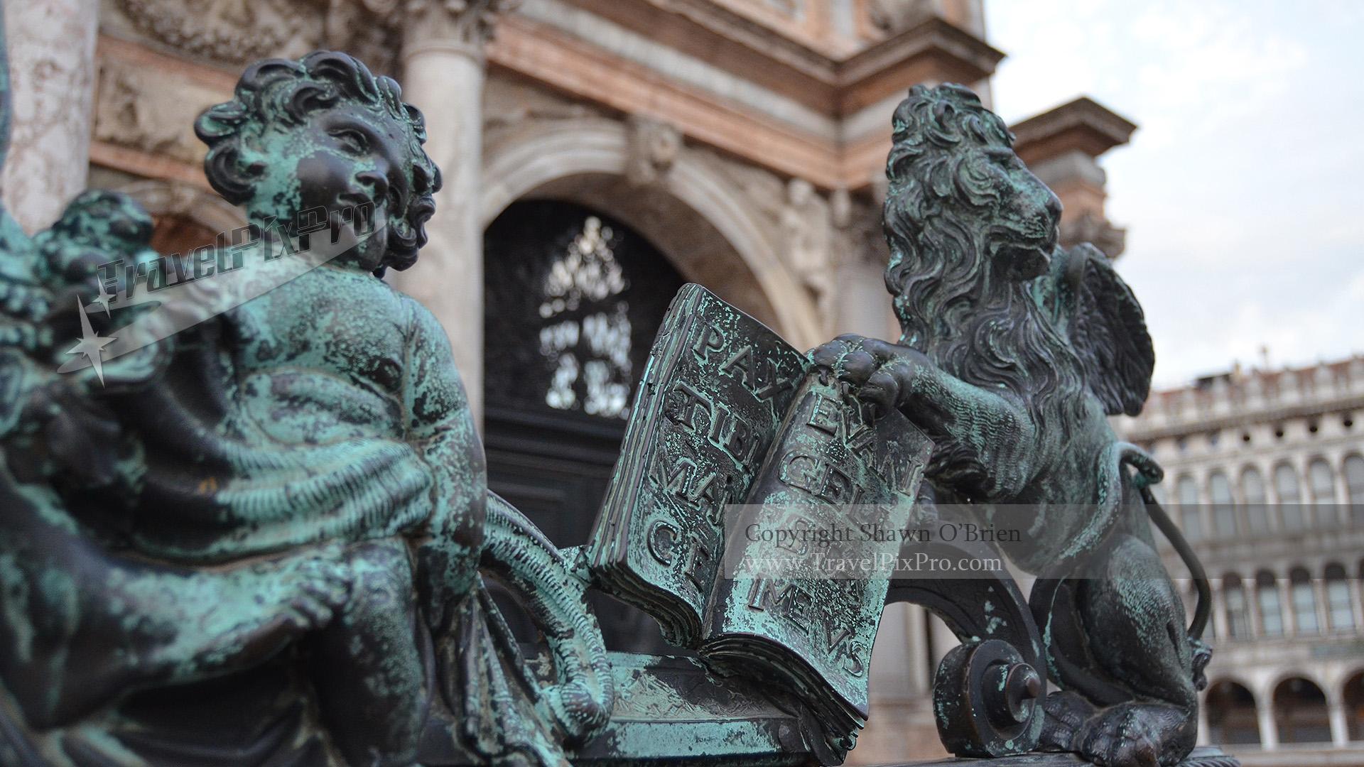 St Mark's Clocktower Bronzes