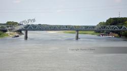 Italian River Steel Bridge