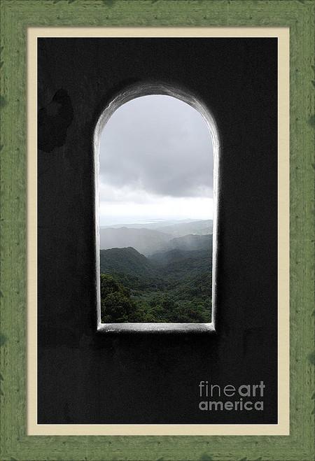 El Yunque Window Puerto Rico