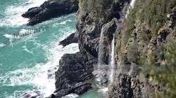 Cinque Terre Triple Waterfall