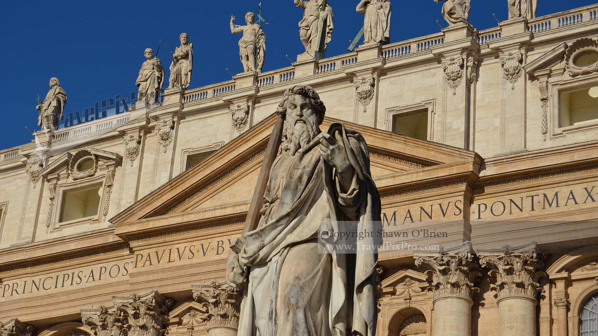 St. Paul Statue Vatican City