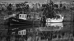 Sligo Ireland Harbour Boats
