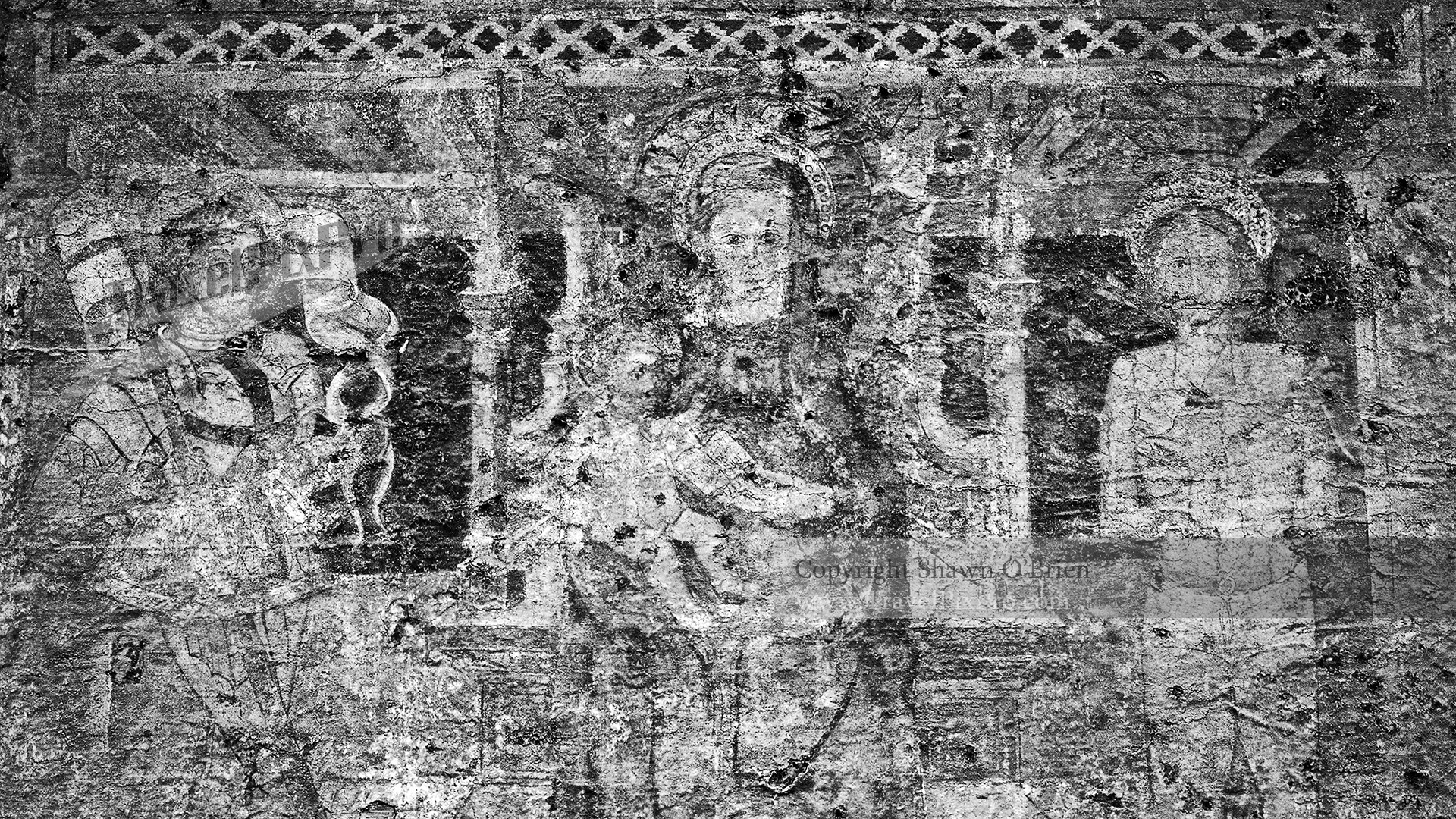 Lake Como Wall Mural