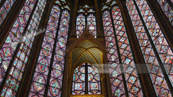 St. Chapelle Stained Glass Grandeur
