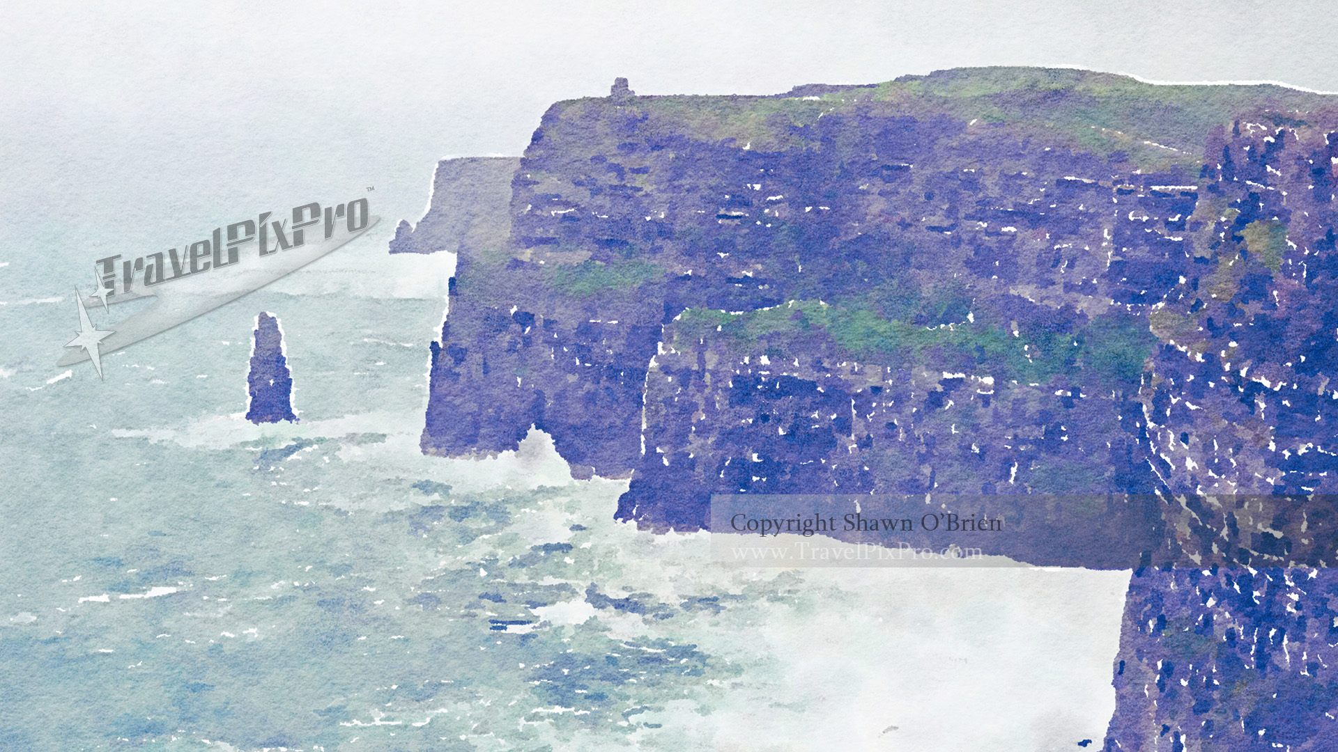 Cliffs of Moher Watercolor