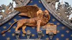 St Mark's Winged Lion Venice