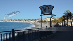 Castel Beach in Nice, France