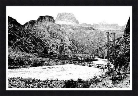 Grand Canyon Silver and Black Bridges