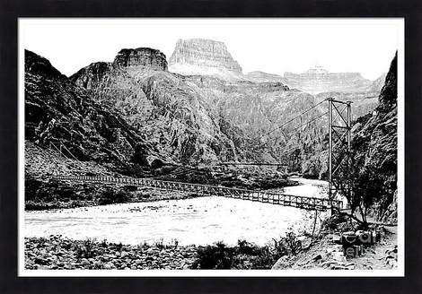 Grand Canyon Silver and Black Bridges
