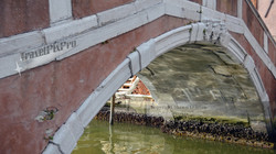 Venetian Canal Footbridge