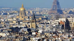 Parisian Towers, Domes and Rooftops
