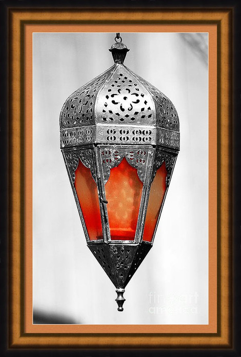 Red Middle Eastern Lantern