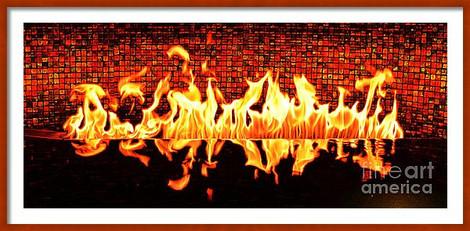 Waterpit Flames