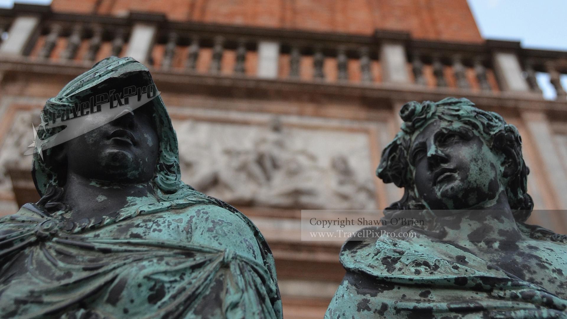 San Marco Campanile Gate Bronzes