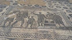 Ostia Antica Grain Market Mosaic