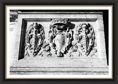 SPQR Shield Capitoline Hill