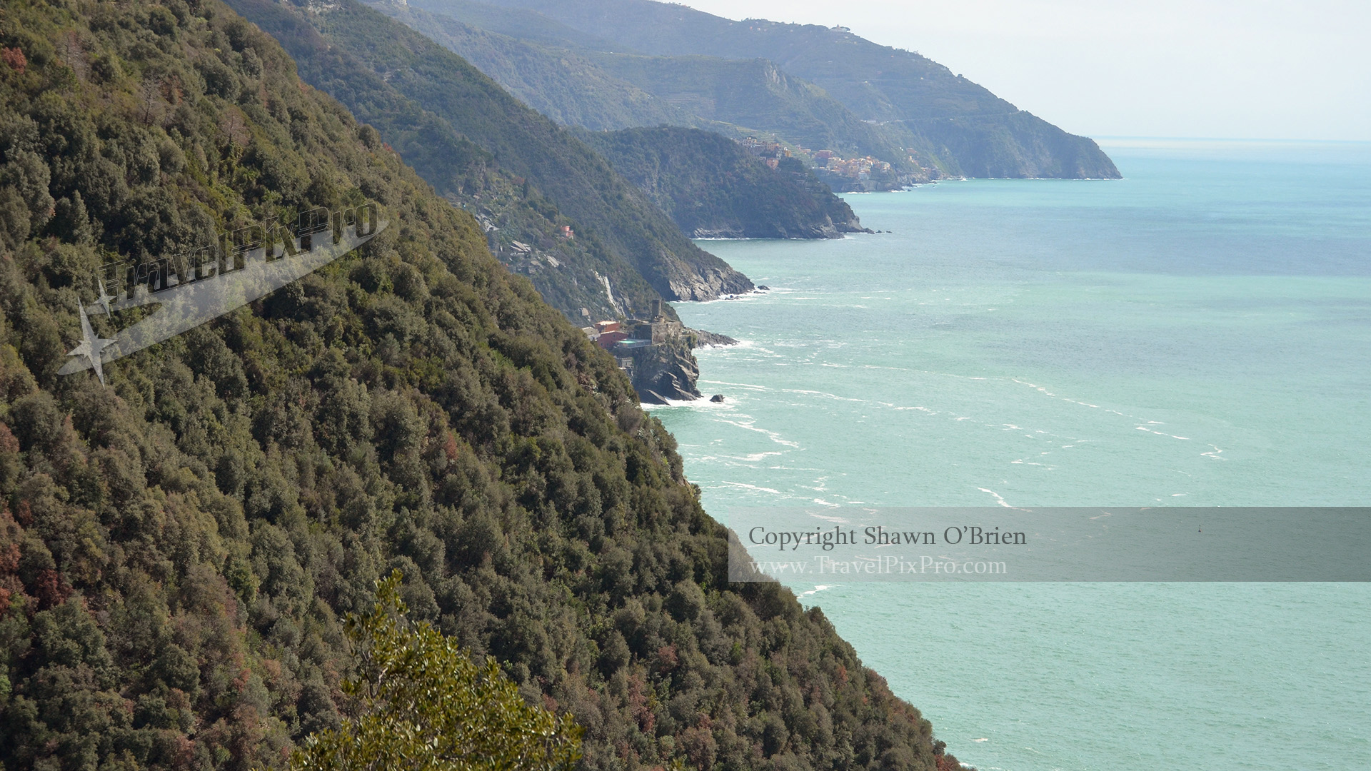 Monterosso to Vernazza Footpath View